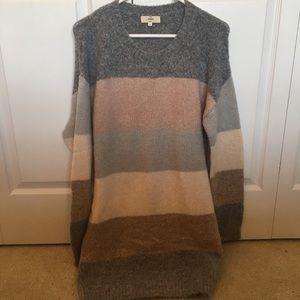 Entro Striped Sweater Dress